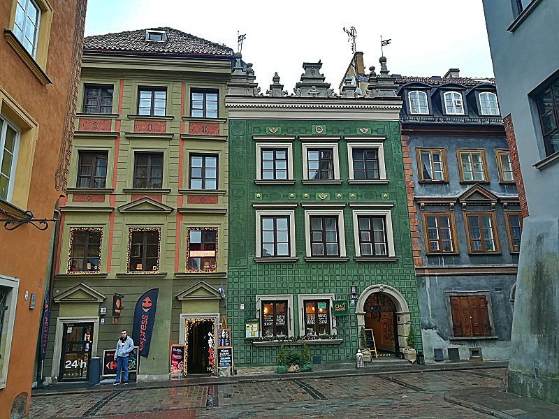 Fassaden Warschau