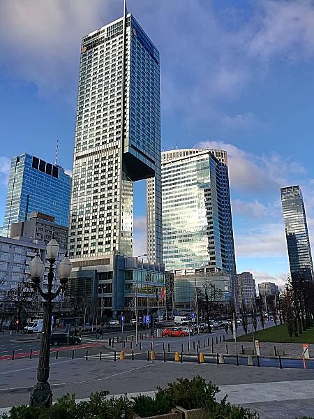 Skyscraper Warschau