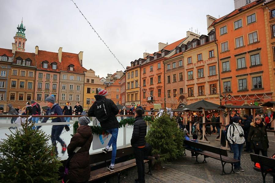 Schlittschuh Warschau