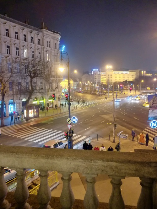 Budapest Ankunft