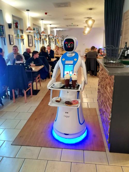 Robotercafe Budapest