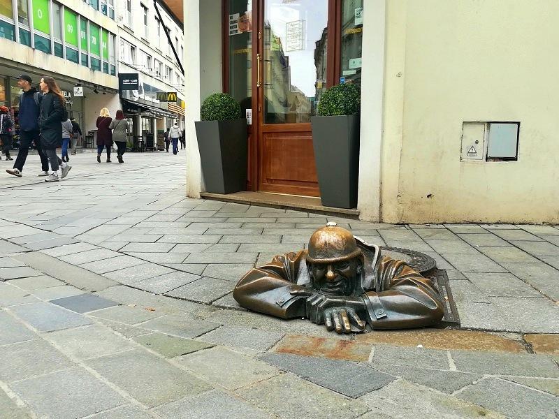 Skulptur Gully Bratislava