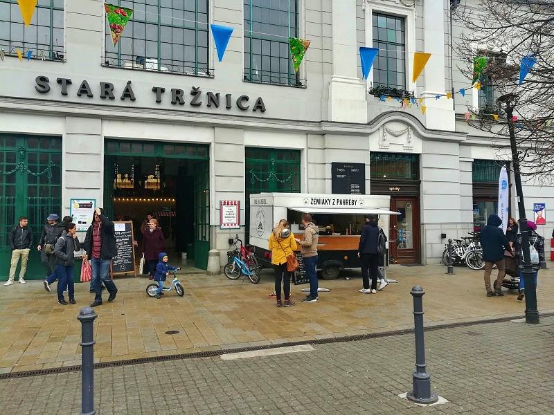 Markthalle Bratislava