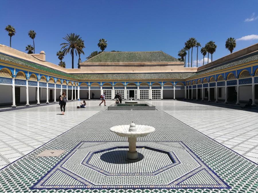 Palast Marokko