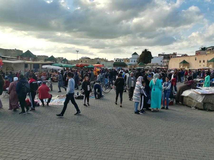 Martktreiben Marokko