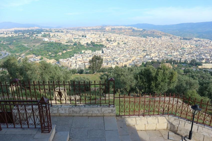 Blick über die Stadt Fes